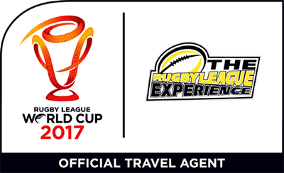 RLWC2017 Rugby League Experience Logo