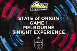 State of Origin 2018 ticket packages to Melbourne. Tickets to Game 1 of the State of Origin. Book Now!